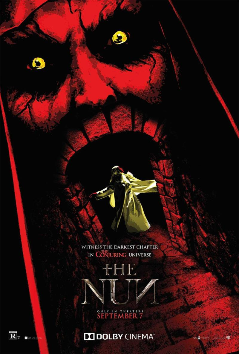 The Nun Movie Poster Design By Life Of Agonys Alan Robert Selected
