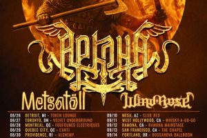 "Arkona North American""Pagan Rebellion Tour"" dates"